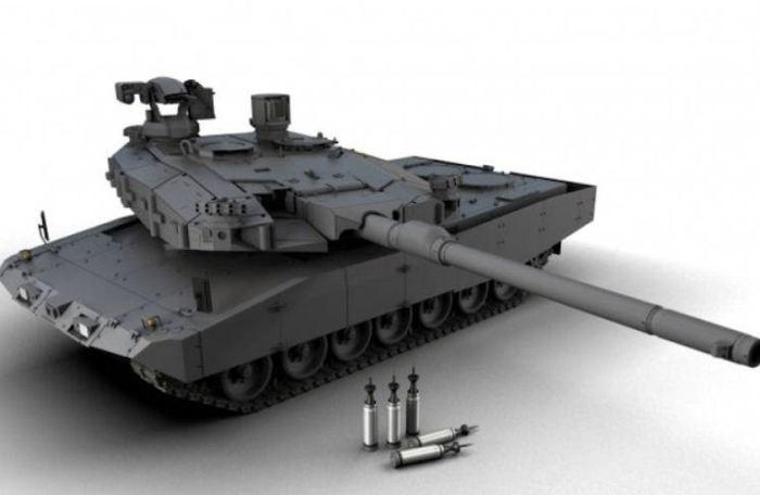 Так через десять лет может выглядеть европейский танк будущего. /Фото: globalsecurity.org