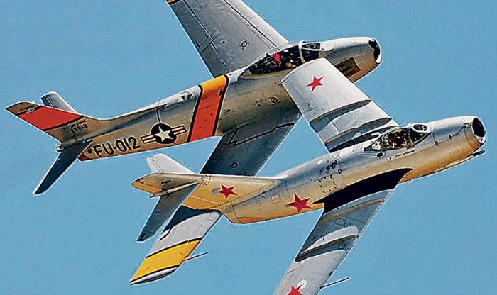 МиГ-15 и  были лакомыми кусочками для обеих сверхдержав. /Фото: vpk.name