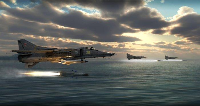 В любое время МиГ-27 эффективно работал. /Фото: w-dog.ru