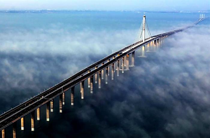 Мост длиной в полторы сотни километров. /Фото: zelenyimir.ru