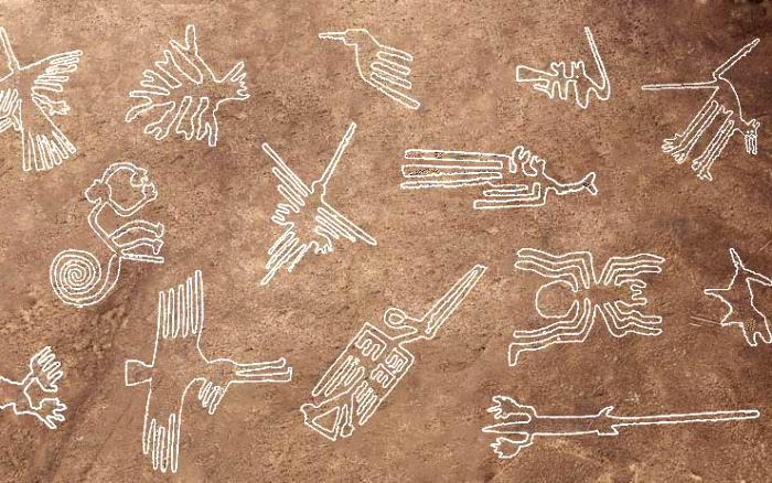 Знаменитые перуанские рисунки все еще будоражат умы историков и обывателей. /Фото: hiking.ru