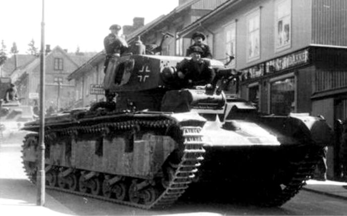 Детища Третьего рейха повторили судьбу французских машин. /Фото: warriors.fandom.com