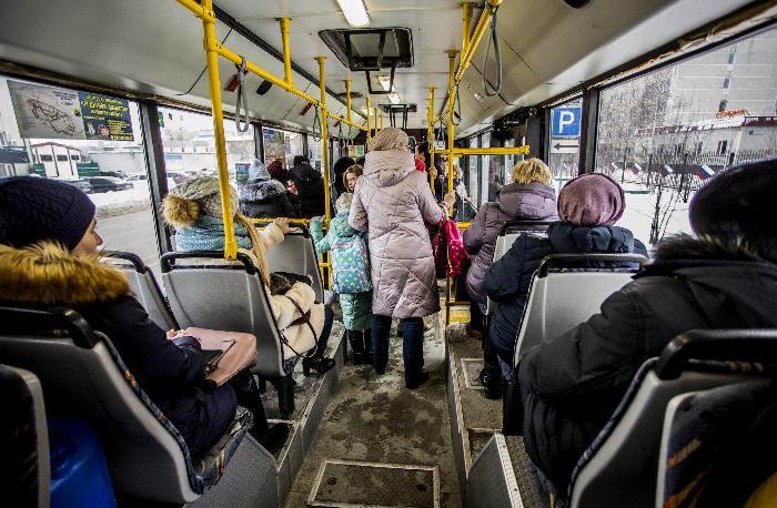 Общественным транспортом пользуются все, кому это удобно. /Фото: ugra-news.ru