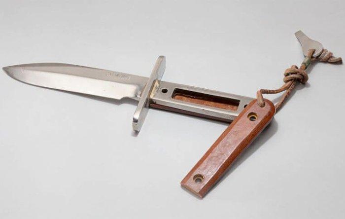 Первый нож специально для космонавтов. /Фото: ar15.com