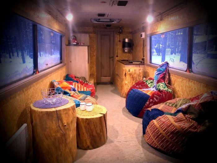 Пожалуй, самый удобный салон автобуса. /Фото: gnezdo.me