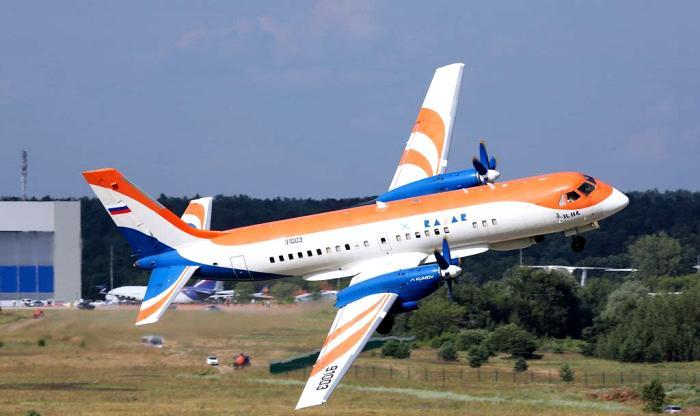 Всего месяц назад возрожденный Ил-114-300 совершил свой первый полет. /Фото: vedomosti.ru