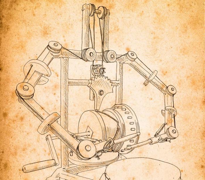 Механизм настолько сложный и при этом рабочий, что трудно представить, что ему больше 500 лет. /Фото: vk.com