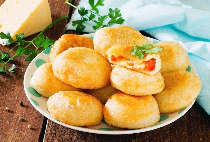Пирожки с исконно русской начинкой. /Фото: pinterest.com