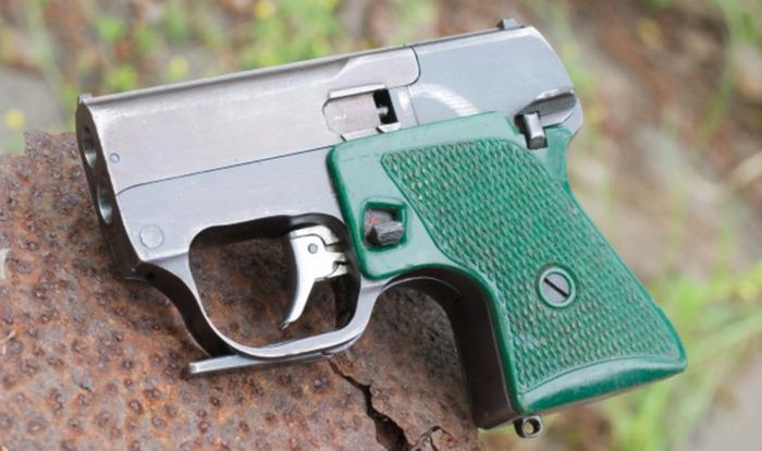 Специальный пистолет МСП «Гроза» (Малогабаритный специальный пистолет). /Фото: war-time.ru