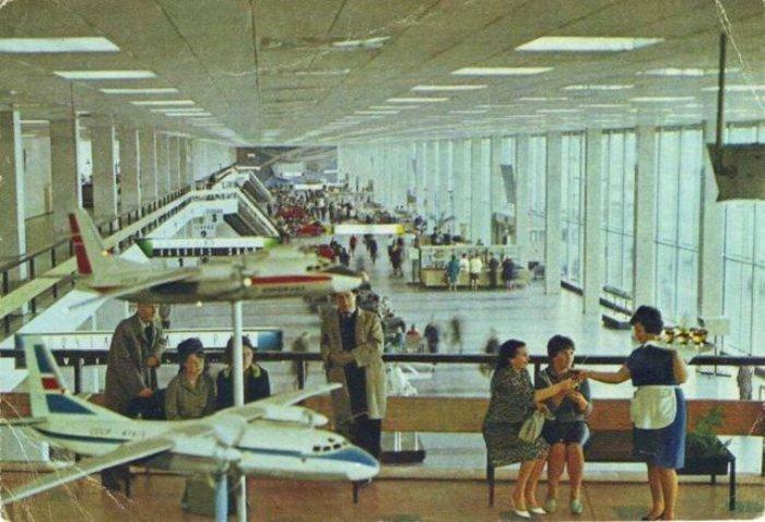 Московский аэровокзал внутри. /Фото: zefirka.net