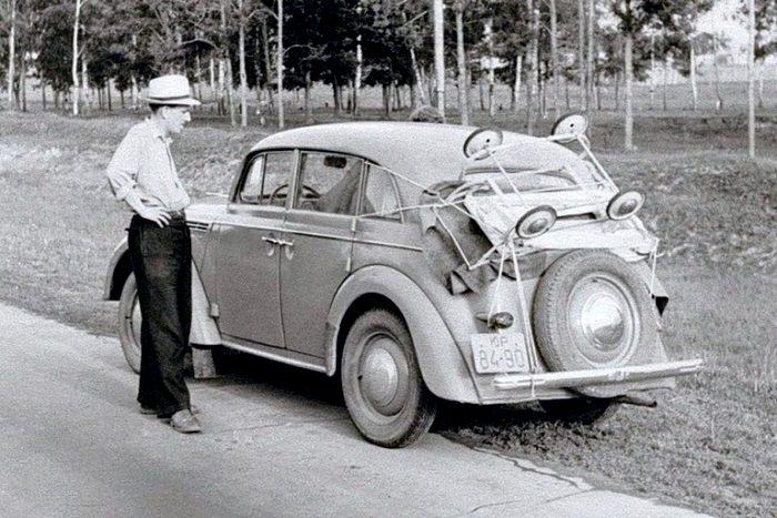 Смекалка советского автомобилиста порой принимала причудливые формы. /Фото: russian7.ru