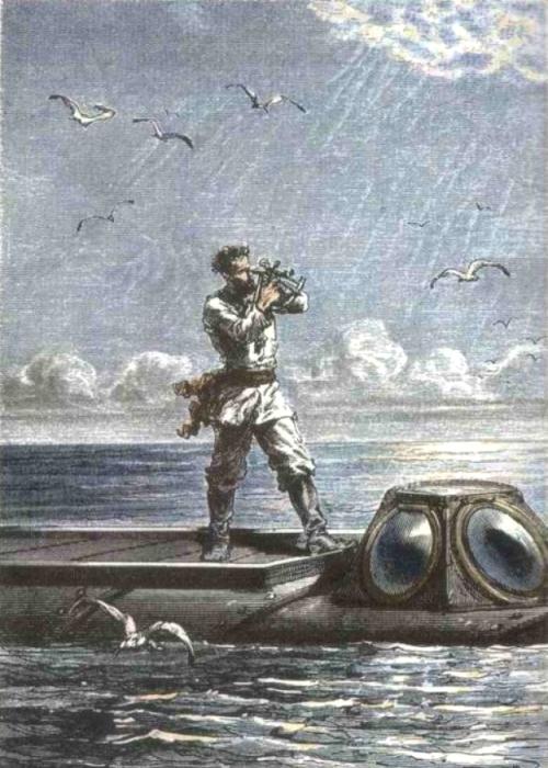 Капитан Немо оказался увековечен даже в точке на карте планеты. /Фото: regnum.ru
