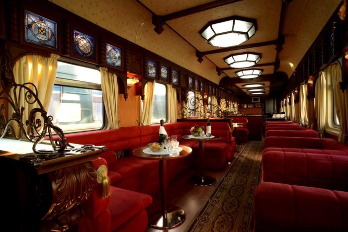 Самый дорогой вагон-ресторан в РЖД. /Фото: regnum.ru