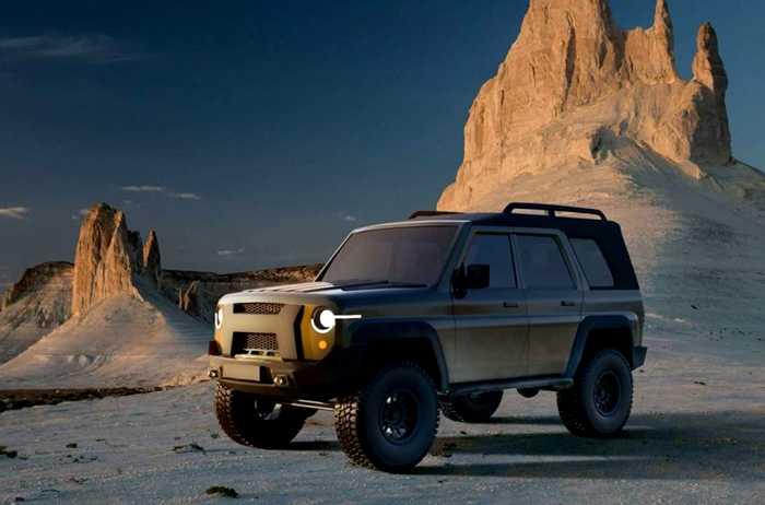 Новый внедорожник от УАЗ. /Фото: motor1.com