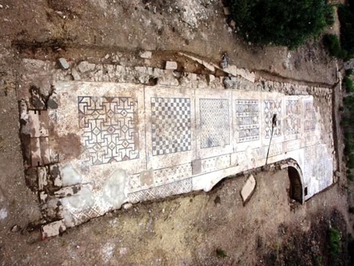 Какие только мозаики древние римляне не делали. /Фото: zitata.org