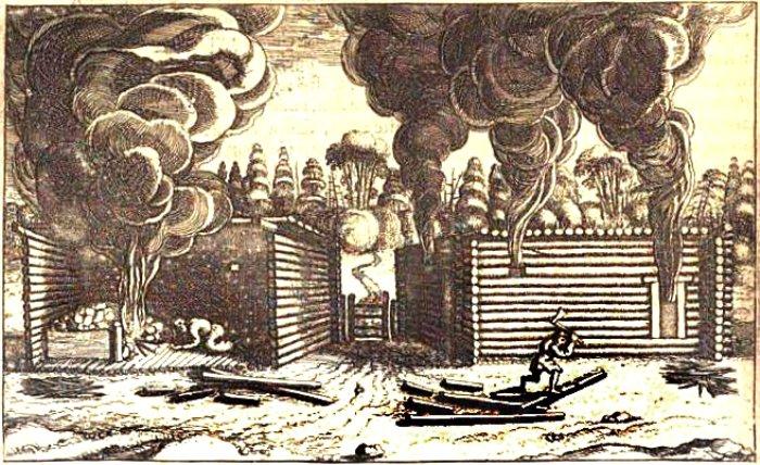 Отопление домов по-черному, 1610-е годы. /Фото: costroma.k156.ru