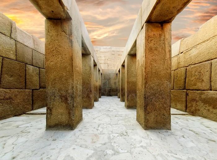 Один из самых загадочных храмов Древнего Египта. /Фото: dostoyanieplaneti.ru