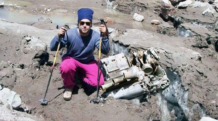 Обломки самолета нашли только 40 лет спустя. /Фото: sometimes-interesting.com