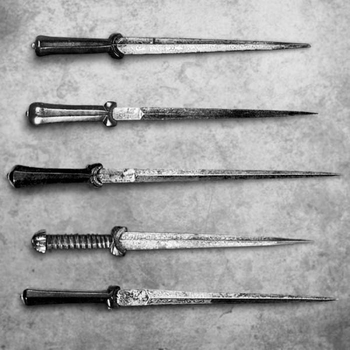 Оригинальный средневековый клинок милосердия. /Фото: vk.com