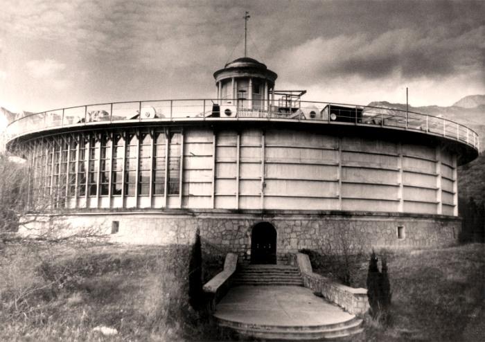 Штормовой бассейн в советские годы. /Фото: mhi-ras.ru
