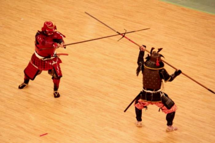 Искусство владения копьем яри называется содзюцу. /Фото: tenshin.ru