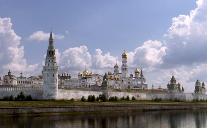 Еще пару столетий назад Кремль отличался от сегодняшнего не только цветом, но и архитектурными ансамблями.