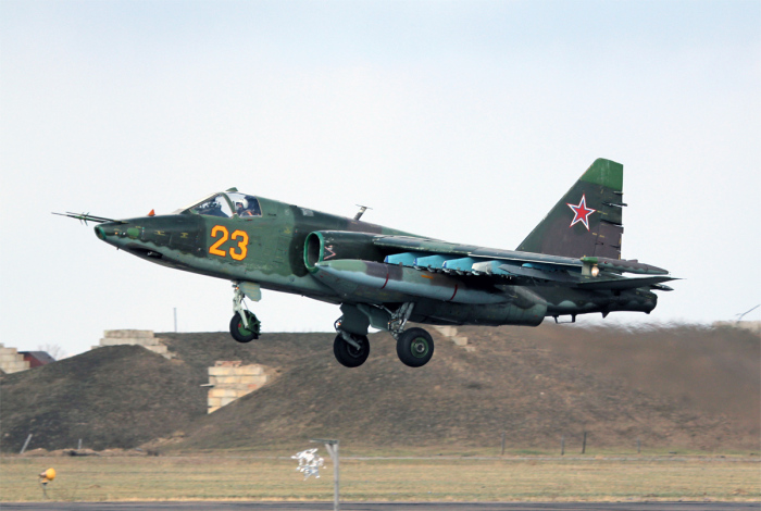 Самый известный советский и российский штурмовик. /Фото: aviarf.ru