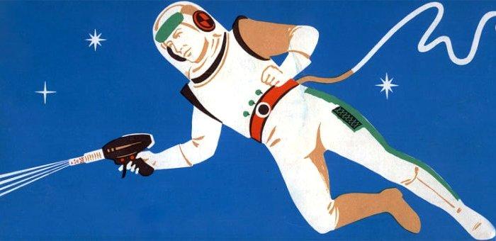 В космосе побывал целый арсенал оружия. /Фото: nauka.boltai.com