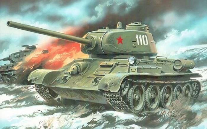 Т-34 - хороший танк, но его мощи все же не хватало. /Фото: militaryarms.ru