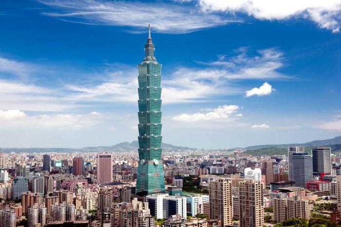 Знаменитая тайваньская башня. /Фото: orangesmile.com