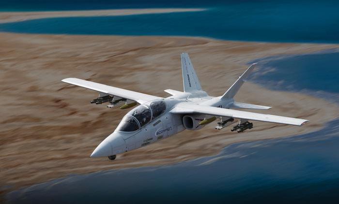 Самолёт Textron AirLand Scorpion. /Фото: bizjournals.com