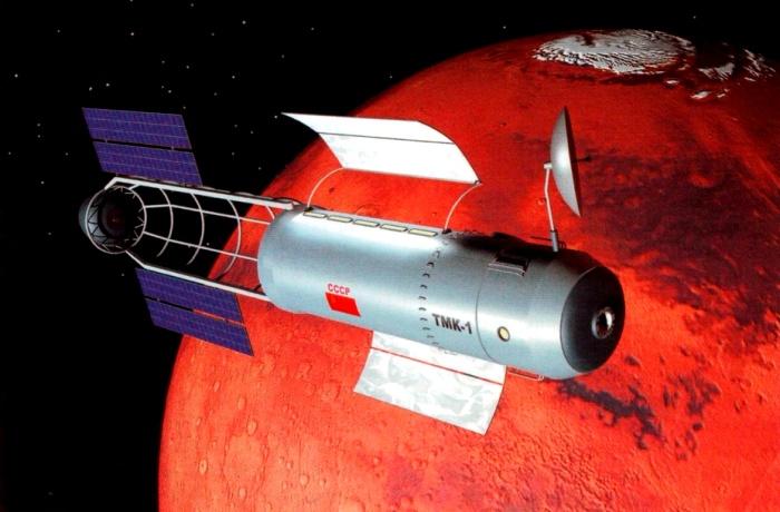 Мало кто знает, что для полета на Марс в СССР успели разработать ракетоноситель. /Фото: starcatalog.ru