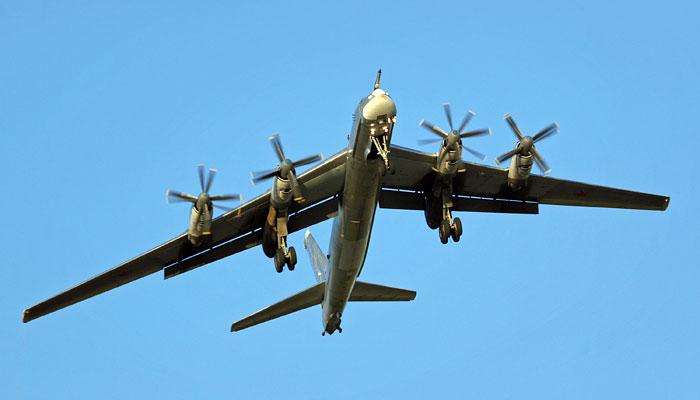 Бомбардировщик, которому больше 60 лет. /Фото: interfax.ru