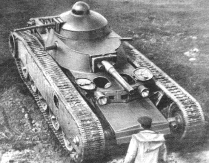 Один из первых проектов сверхтяжелых танков СССР. /Фото: scalefan.ru
