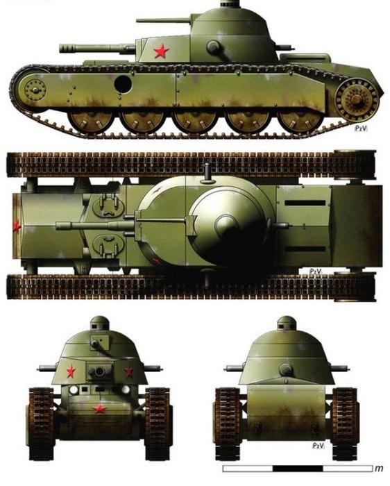 Огромная бронемашина оказалась слишком дорогой и сложной. /Фото: scalefan.ru