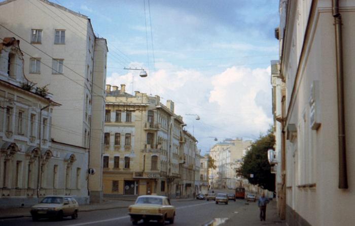 Улица, которая в своем названии хранит воспоминания о...сене. /Фото: um.mos.ru