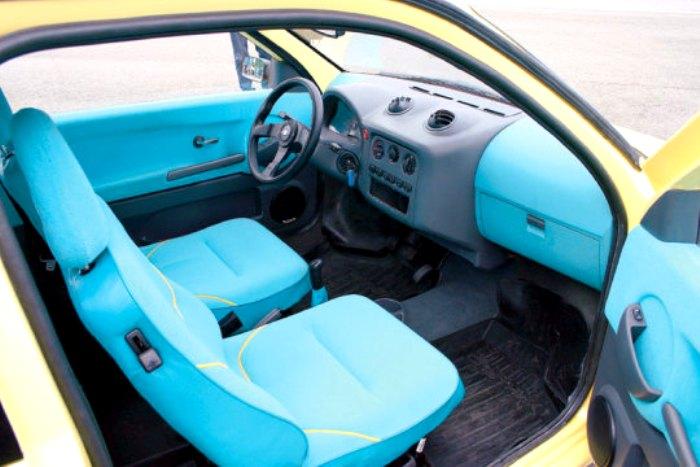 Вид салон автомобиля «Ока-2». /Фото: autowp.ru