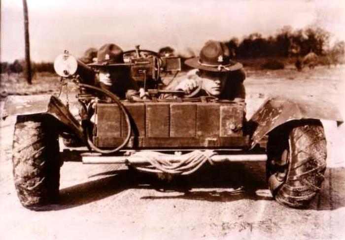 Howie «Belly Flopper» Machine Gun Currier. Вид спереди. /Фото: warweapons.ru