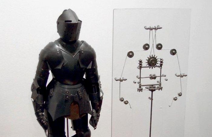 Леонардо да Винчи не только танки конструировал, но и роботов собирал. /Фото: lamcdn.net