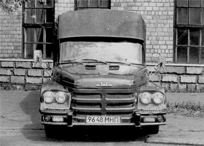 У, казалось бы, обычного грузовика были совсем необычные характеристики. /Фото: 5koleso.ru