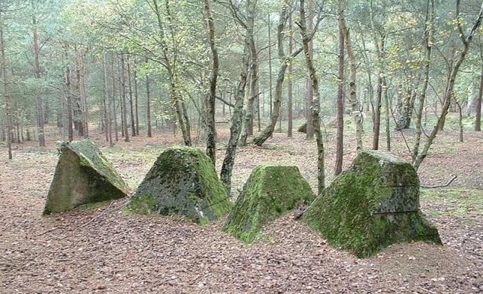 На первый взгляд такие пирамиды напоминают следы пребывания инопланетян / Фото: bel.kp.ru