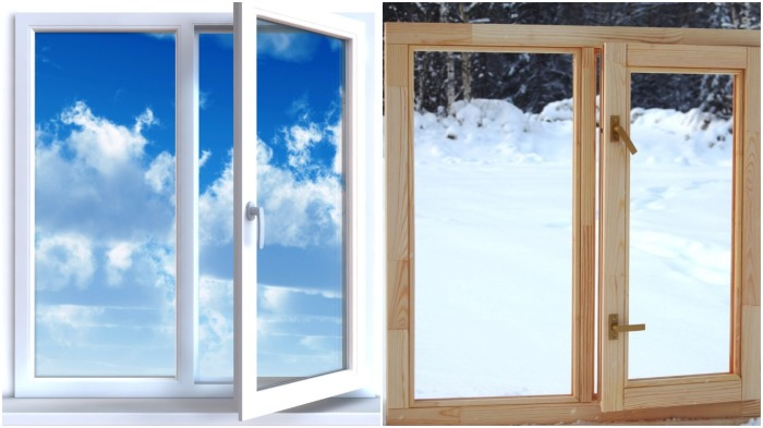 В отличие от пластиковых и деревянных окон, альтернативный вариант более экологичный и безопасный / Фото: ua-vk.ru