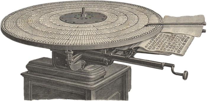 Во времена печатных машинок китайцам было не так уж и легко / Фото: yaplakal.com