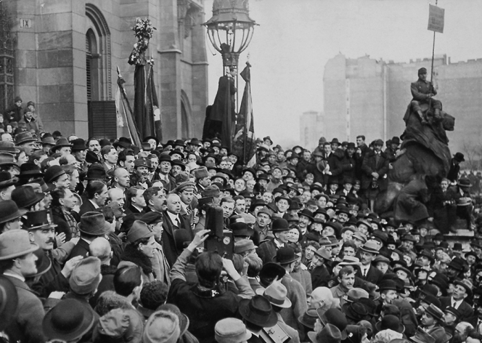 Венгерская Народная Республика просуществовала 133 дня / Фото: alternathistory.com