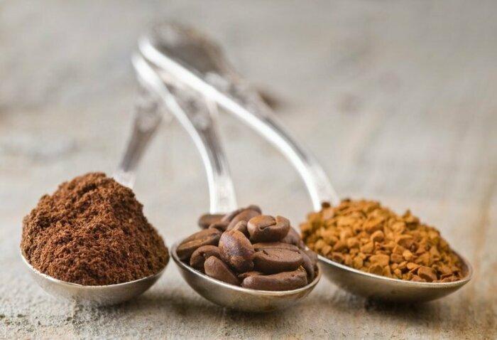 Количество кофеина в молотом, сублимированном и гранулированном кофе приблизительно одинаковое / Фото: nevsedoma.org.ua