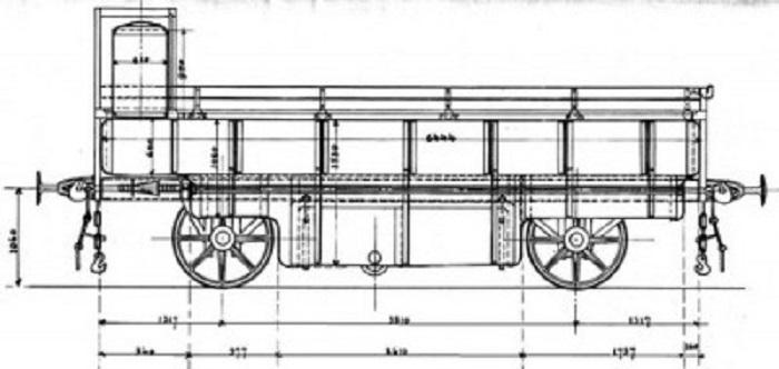 Схематический рисунок цистерны-платформы инженера Кубасова / Фото: instagram.com