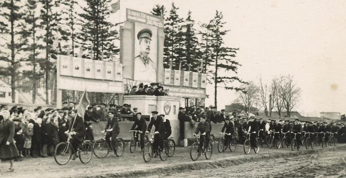 Закрытый город должен был стать «коммунистическим раем» / Фото: pastvu.com