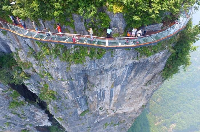 Стеклянные мосты - не редкость в Китае / Фото: m.123ru.net