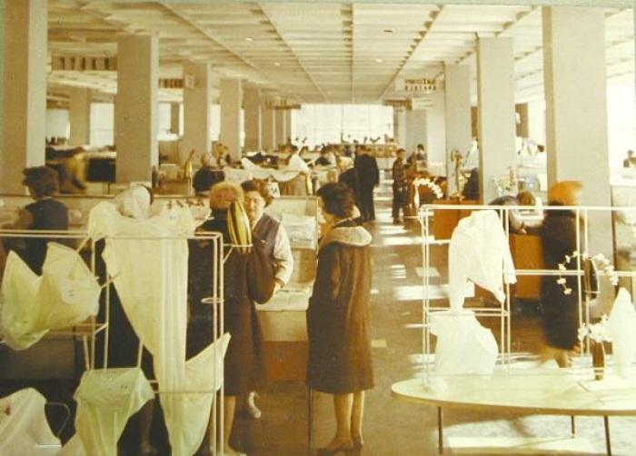 Удобства создавались не только для посетителей, но и для персонала / Фото: niro-moskva.livejournal.com