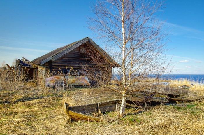 К 2000-м годам население села резко сократилось / Фото: drive2.com